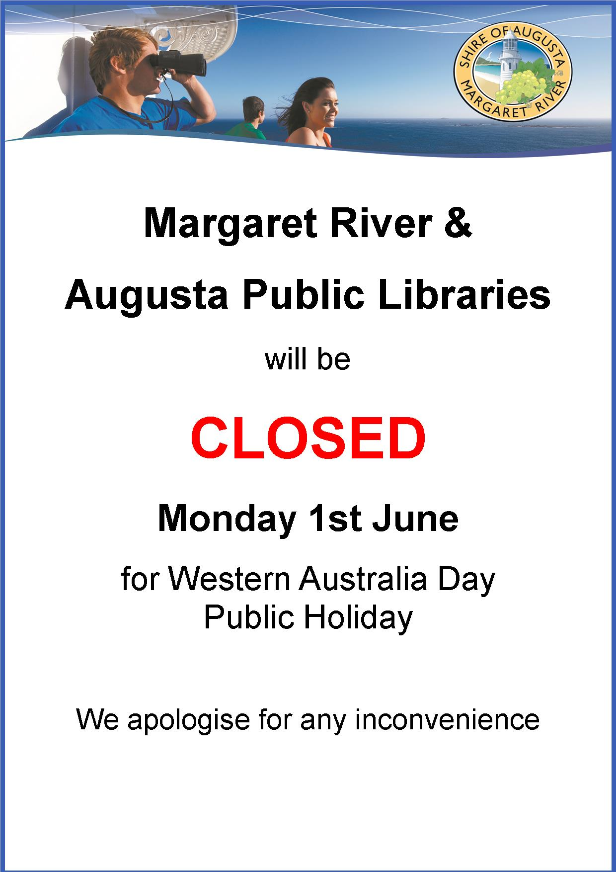 Margaret river library opening hours