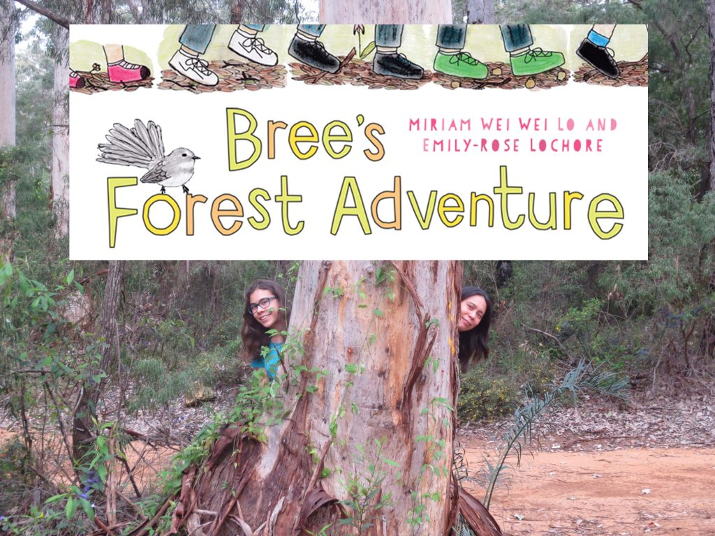 Book reading of Bree's Forest Adventure by Miriam Wei Wei Lo and Emily-Rose Lochore @ Margaret River Library