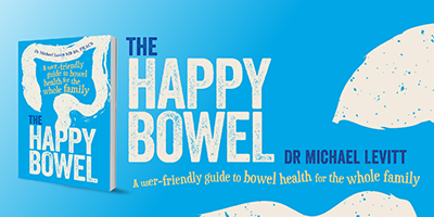 The happy bowel, a book talk by Dr Michael Levitt @ Margaret River Library
