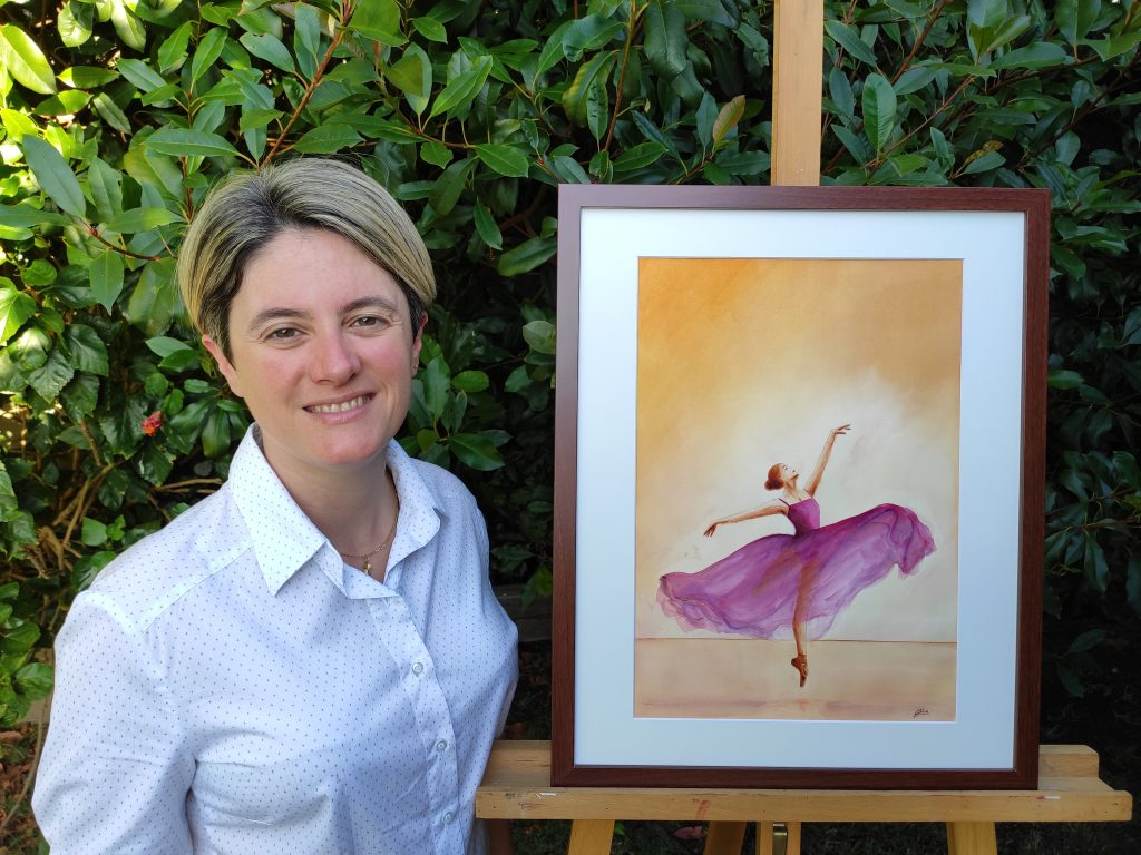 Cocoon Gallery for Emerging Artists: Silvia Busetto Exhibition Opening @ Margaret River Library