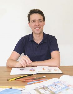 Book illustration and drawing workshop with Gabriel Evans @ Augusta Library