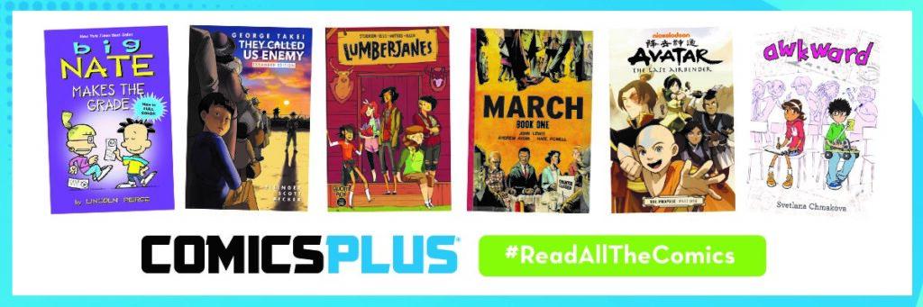 Comics plus children's selection image